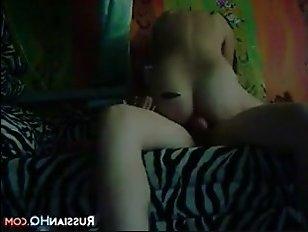 Русское домашнее порно молоденьких парня и девушки